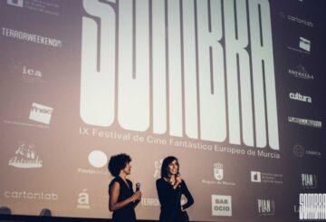 Nuria Muñoz y Eva Libertad en el estreno de Nikolina