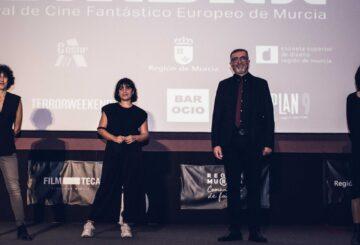 Nuria Muñoz, Marta Megías, Juan Alberto López y Eva Libertad en el estreno de Nikolina